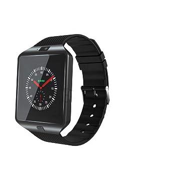 XKIAFV Sport Watch Reloj Inteligente Reloj Digital para Hombres Reloj Inteligente para iOS Android Teléfono Móvil Bluetooth Sim Tarjeta con Tarjeta TF ...