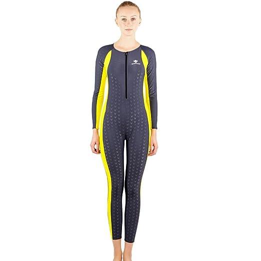 abba7eded Axjzh Mujer Traje de Buceo Trajes de Baño Piel de Tiburon Bañador Traje de  Surf  Amazon.es  Deportes y aire libre