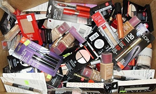 Mix Lot of 50 Revlon Cosmetics Eyes,lip,face and Many More Assorted Wholesale by Revlon