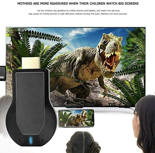 Storite M2 Plus 1080P 3-d WiFi Wireless Display Receiver Dongle HDMI TV Miracast DLNA Airplay for iOS Apple iPhone iPad Android Smartphone Windows Mac Air Mirror Your Phone