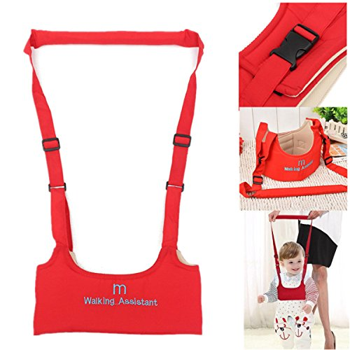 Baby Toddler Wing Belt Safety Harness Strap Walk Assistant Infant Carry Red (Baby All Star Memory Book)