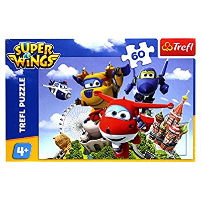 Puzzle 60 Super Wings Lot Dookola Swiata