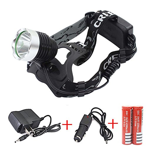 Aluminum Headlamp Flashlight Flashing Include