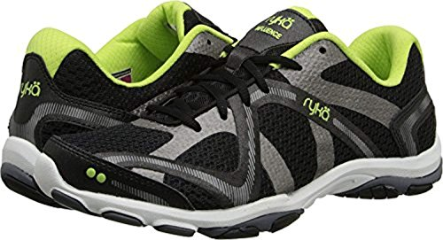 Women's Met Sharp Iron Forge Black Cross Training Ryka Grey Shoe Green Grey Influence 6qd1fT