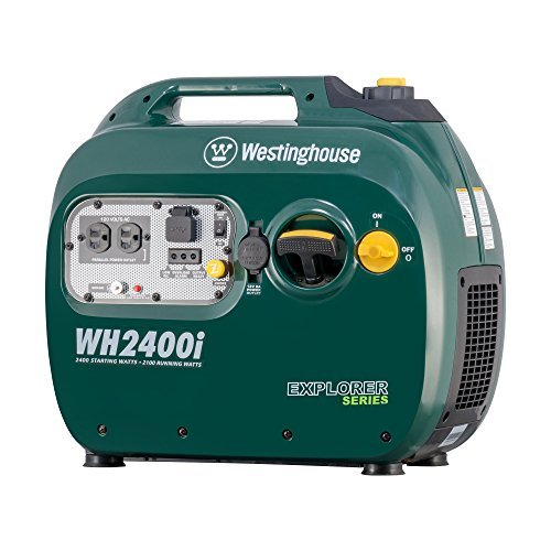 Westinghouse WH2400i Portable Inverter Generator - 2100 Running Watts and 2400 Starting Watts - Gas Powered - CARB Compliant