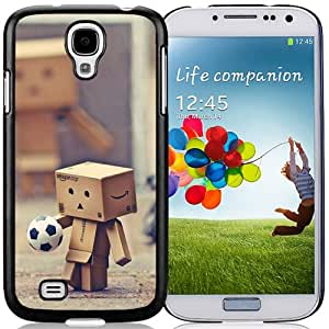 Danbo And Other Toys To Play Football Hard Plastic Samsung Galaxy S4 I9500 Protective Phone Case