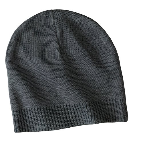 Joe's USA(tm) - 100% Cotton Beanies in GRAPHITE