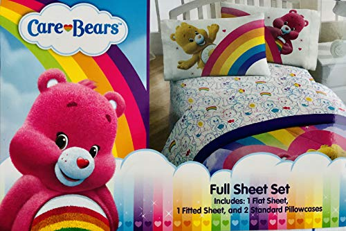 Care Bears 4 Piece Full Size Sheets Set