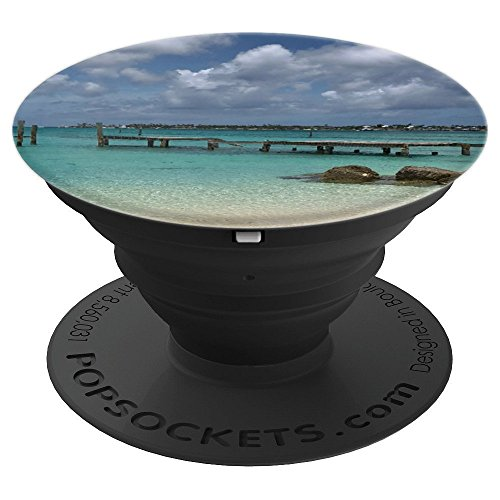 Clifton Bay, Nassau Bahamas Snorkling Ocean Beach Photo - PopSockets Grip and Stand for Phones and Tablets