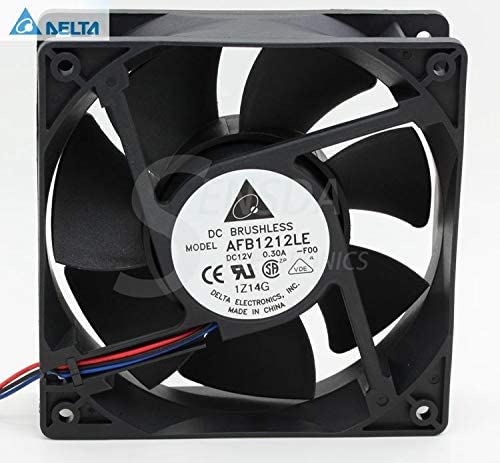 for delta AFB1212LE F00 12025 12cm 120mm DC 12V 0.30A Computer cpu case axial cooling fans