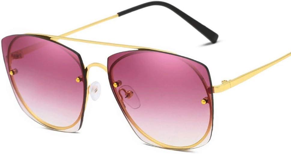 Gafas unisex Gafas de sol hombre y mujer Gafas de montura de metal polarizadas Gafas de sol de conducción unisex gafas de sol polarizadas para hombres y mujeres ( Color : Verde , Size : Casual size )
