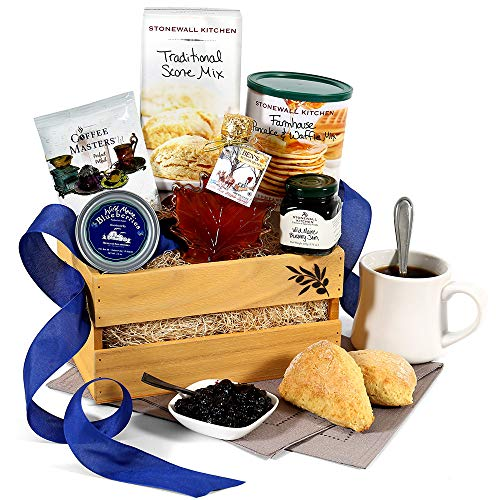 New England Breakfast Gift Basket Classic (Breakfast Gifts Food)