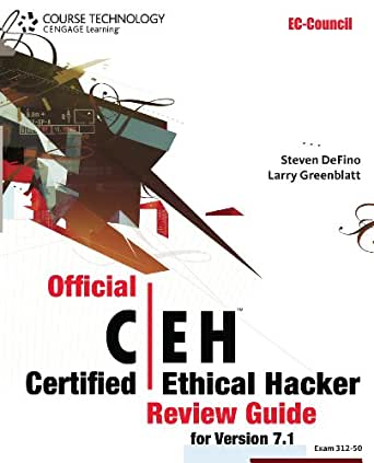 official certified ethical hacker review guide for version 7.1
