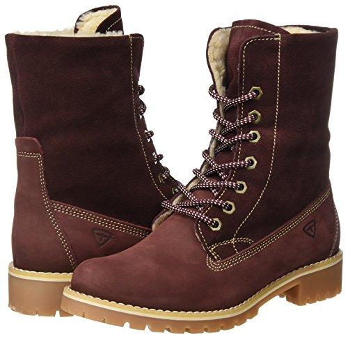 Red Boots Tamaris 26443 bordeaux Combat Women''s 4wIAv