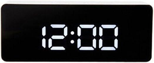 Braceus Multifunction Make-up Mirror Surface Alarm Clock Digital LED Display Desk Decor 1