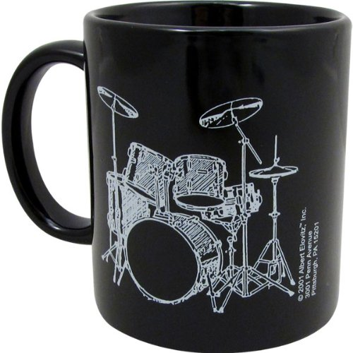 Mug with 5 Piece Drum Set