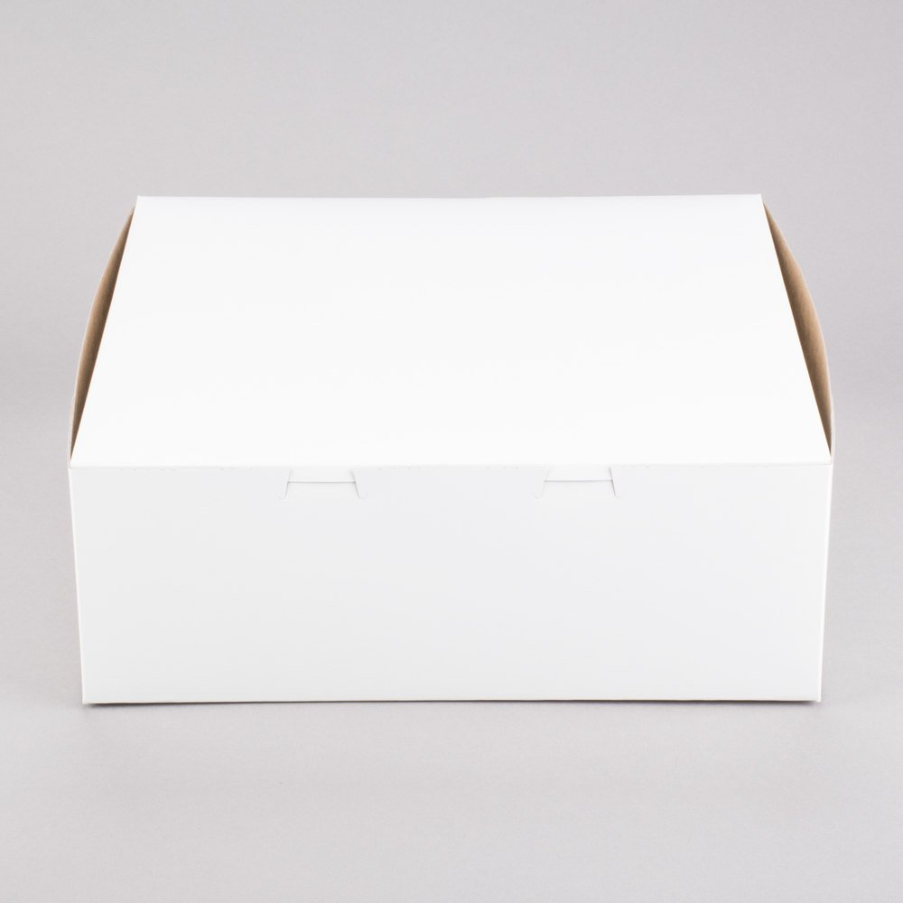 Southern Champion Lot of 10 Bakery or Cake Box White 14x14x6 by Southern Champion (Image #3)
