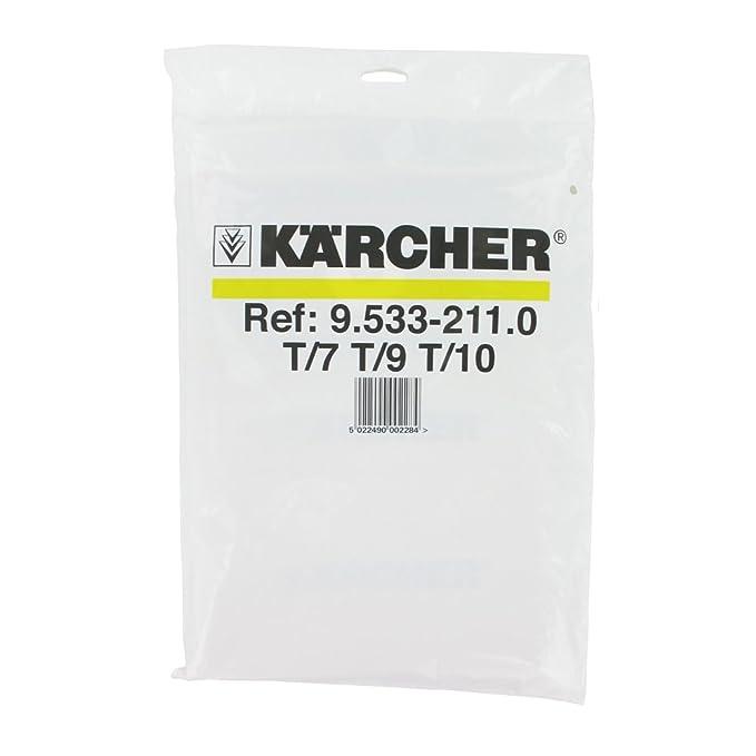 Pack de 10 6.904-333.0 KARCHER T 10//1 sacs de filtre