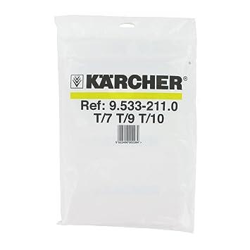Kärcher - Pack de 10 bolsas de papel para aspiradora T7/1 ...