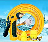 ZLJTYN 10 Meters 20 Meters Car Washing Machine Water Guns Household Joints Plastic Hose Hose Watering Flower Car Washing Tool,40 Meters