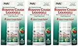 Robafen Cough Liquidgels Dextromethorphan HBr, USP 15mg, 20 Liquidgels (3 Packs)
