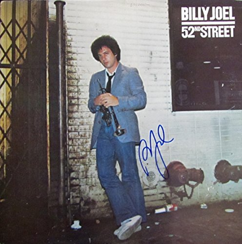 BILLY JOEL Autographed Hand SIGNED Vinyl RECORD ALBUM 52nd STREET 1978 w/COA