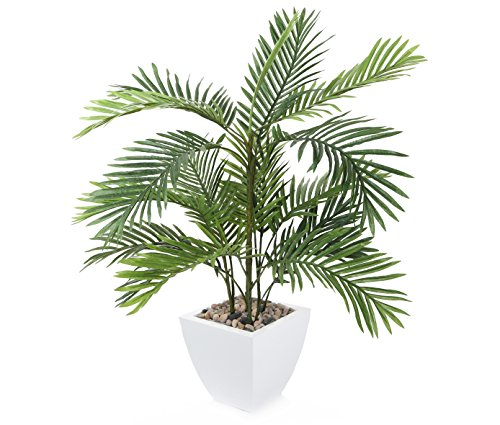"Closer2Nature Artificial 2ft 6"" Kentia Palm Tree - Portof..."