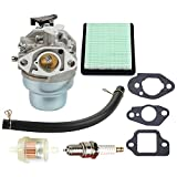 Mckin 16100-Z0L-023 Carburetor + Repair Rebuild Gasket + Air Fuel Filter for Honda GCV160 Engine HRB216 HRR216 HRS216 HRT216 HRZ216 Lawn Mower