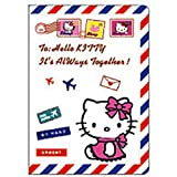 Hello Kitty Airmail Envelope Passport Cover Holder ~ No more bent corners during travel