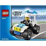 LEGO City: Police Buggy Set 30013 (Bagged)