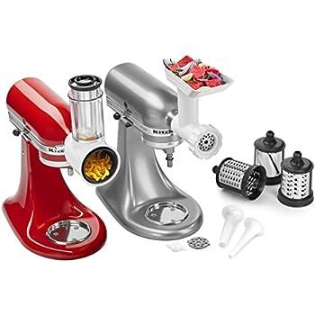 Amazon Com Kitchenaid Ksm1apc Spiralizer Attachment 1 Silver