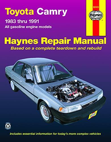Toyota Camry  '83'91 (Haynes Repair Manuals)