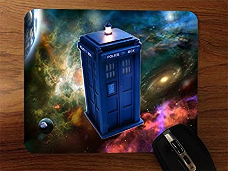 Incredible Dr Who Desktop Office Silicone Mouse Pad By Compass Litho Interior Design Ideas Gentotryabchikinfo