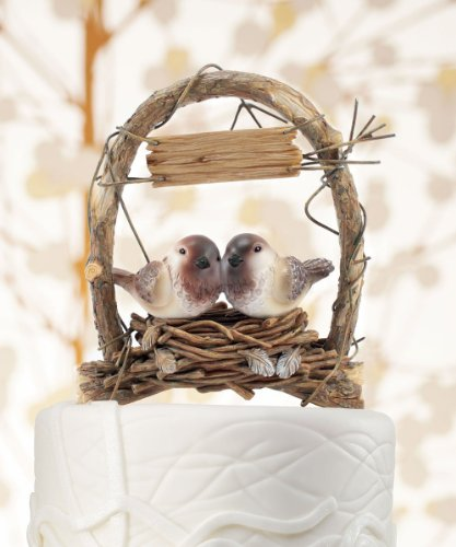 A-Love-Nest-Love-Birds-in-Archway-Cake-Topper