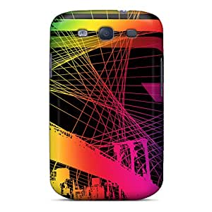 Hot Style GmYeDSG5147vWInI Protective Case Cover For Galaxys3(city Lights)