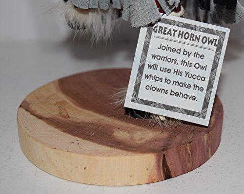 12 INCH Great Horn Owl Kachina by Kachina Country USA (Image #3)