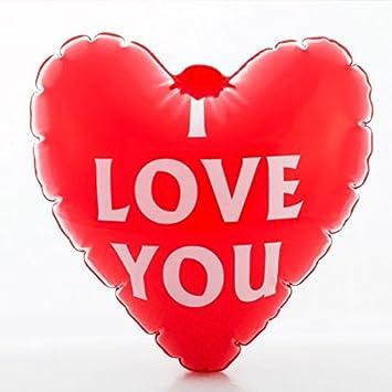 Eurowebb balón corazón de gonfler I Love You – regalo boda St ...