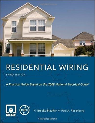 design home wiring residential wiring h brooke stauffer 9780763752606 amazon com  residential wiring h brooke stauffer