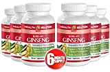 Red ginseng powder - KOREAN GINSENG - boost sexual energy (6 Bottles)