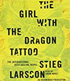 Stieg Larsson Millennium Trilogy Audiobook CD Bundle: The Girl with the Dragon Tattoo, The Girl Who Played with Fire, and The Girl Who Kicked the Hornet's Nest