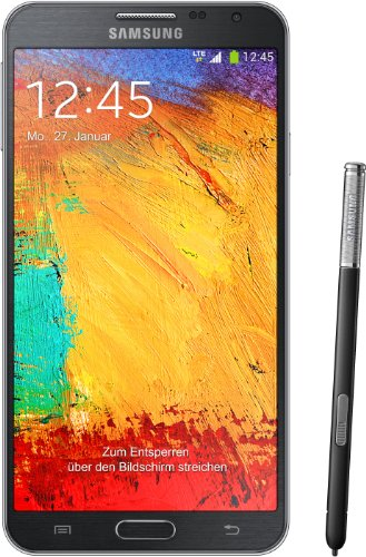 3 NEO N7505 Factory Unlocked GSM 4G LTE Smartphone with S Pen Stylus - Black ()