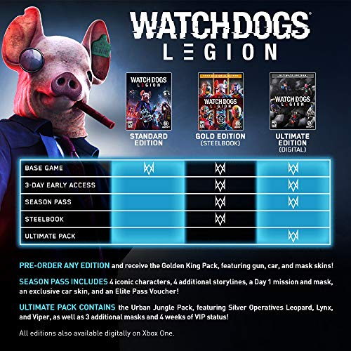 511%2BAOwH6vL - Watch Dogs Legion - PlayStation 4 Standard Edition