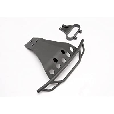 Traxxas Bumper, Front/ Bumper Mount, F 6835: Toys & Games