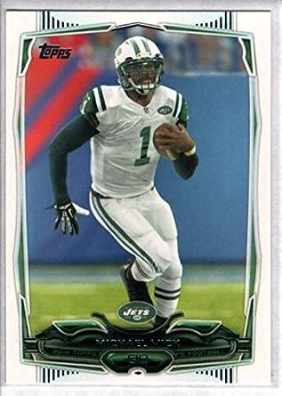Amazon.com  Football NFL 2014 Topps  123 Michael Vick NY Jets ... e9758c022