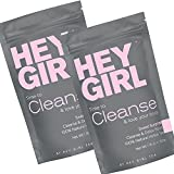 Cheap Detox Tea (2 Pack) – Cleanse Herbal Teatox Reduces Bloating & Helps Your Body Stay Regular   Keep Your Colon Happy and You Feeling Healthy with Hey Girl Tea