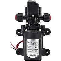 Bomba de agua autocebante automática, 12 V, 115 psi, diafragma de alta presión, bomba de agua autocebante, 5 l/min, 60 W…