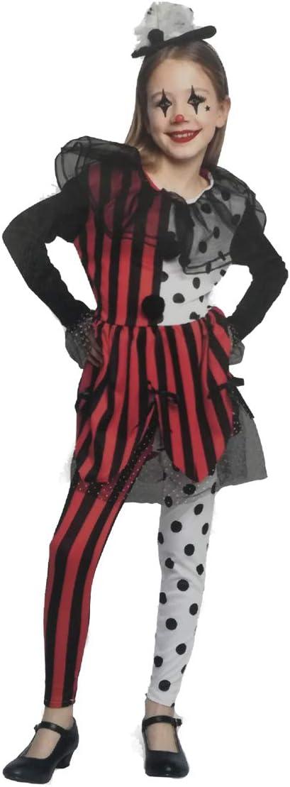 LEMON TREE SL Disfraz para Halloween Infantil de Arlequín Color ...