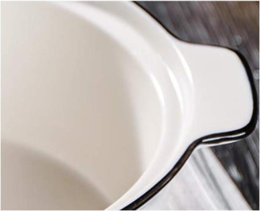 Suppentopf hitzebest/ändig 3 l Topf aus Keramik Kasserolle aus Keramik