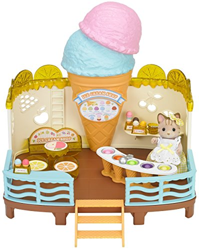 Calico Critters Seaside Cream Shop