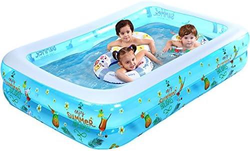 Conjunto de piscina inflable para bebés grande tipo familiar piscina de paleta para niños bola de